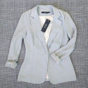 NWT Ark & Co pinstripe blazer (super soft!)